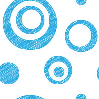 blue scribble dot background pattern tile