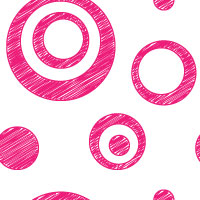 pink scribble dot background pattern tile