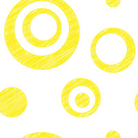yellow scribble dot background pattern tile